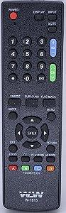 CONTROLE REMOTE LCD SHARP   7815