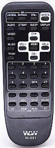 Controle Remoto TV Mitsubishi  wlw-031