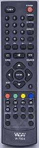 Controle Remoto Tv Samsung WLW-7504