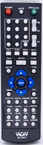 Controle Remoto DVD TECTOY 7917