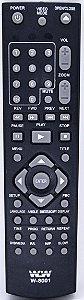 PLANETA-CONTROLE REMOTE DVD NKS  Embal:200pcs REF:W-8001