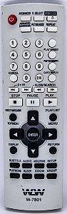 CONTROLE REMOTE DVD PANASONIC  7801