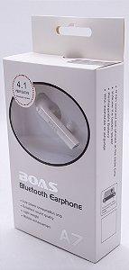 Fone De Ouvido Sem Fio Bluetooth I7 A7 4.1 Universal Sport