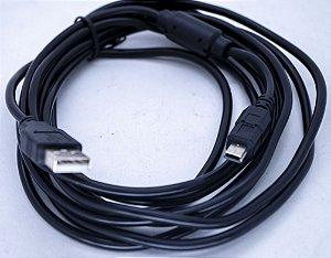 Cabo V3 1.5MT Passa Dados Com Filtro  WLW-USB-V3-1.5M