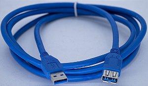 Cabo USB 3.0 Macho Para USB 3.0 FEME 3MT US3.0-AF-3M