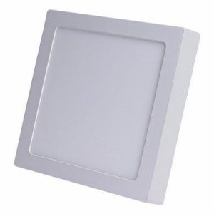 Kit 5un Plafon PAINEL LED SOBREPOR Quadrado 25W  Bran. frio