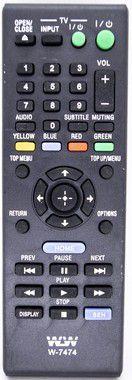 Kit 20un Controle Remoto Dvd Sony Blu-ray WLW-7474