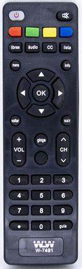 Kit 10un Controle Dvd Toshiba WLW 7491