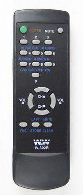 Kit 20un Controle Remoto TV TEC SOT REF:302R