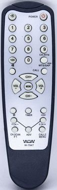 Kit 20un Controle remoto para TV SEMP TOSHIBA WLW-7947