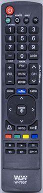 Kit 10un Controle Remoto Tv Lg WLW-7058