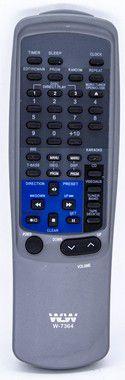 Kit 10un Controle Remoto SOM AIWA REF:7364