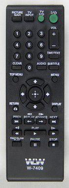 Kit 10un Controle Remoto-DVD-SONY REF:7409