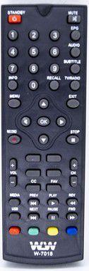 Kit 10un Controle Remoto  DVD VHF REF:7018