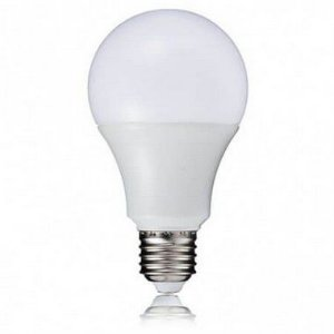 Kit 10un Lampada de LED 9w E27 Branco Frio BIVOLT