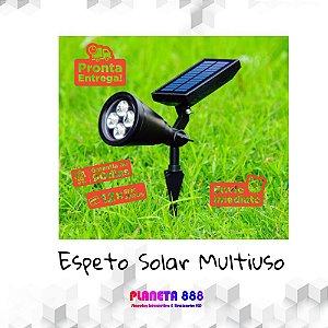 Espeto Jardim Solar Multiuso 2W Brano Quente