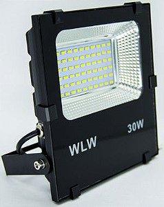 Refletor Holofote LED 30W  SMD Branco Frio BIVOLT MT-5830WH