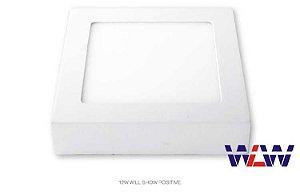 Painel Plafon Sobrepor 40X40 36W 6500K  Branco Frio