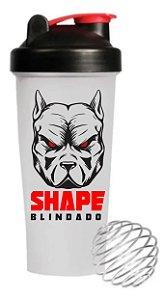 Coqueteleira de Academia Shape Blindado 600 ml