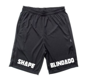 Bermuda Dry Fit Shape Blindado Preta
