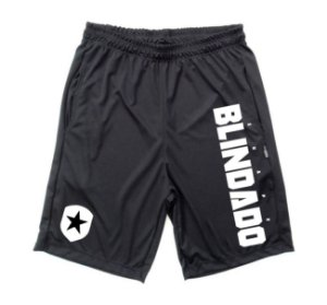 Bermuda Dry Fit Blindado and Shield Preta