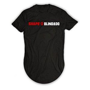 Camiseta Longline Shape Blindado Escudo