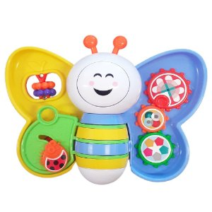Brinquedo Educativo Bebe Babyleta 6M+ Som E Luz Menino