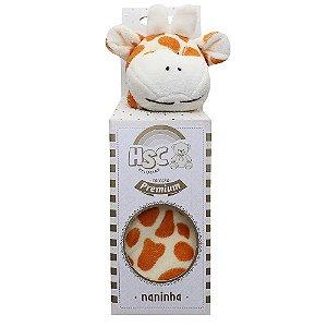 Naninha HSC Pelúcias Girafinha Amarela