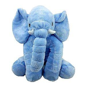 Bichos de pelúcia WU para bebês Elefante Azul