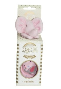Naninha HSC Pelúcias Elefante Rosa