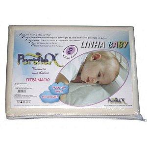 Travesseiro Antisufocante PortFlex Baby com Fronha