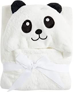 Manta Com Capuz Jolitex Panda Branco