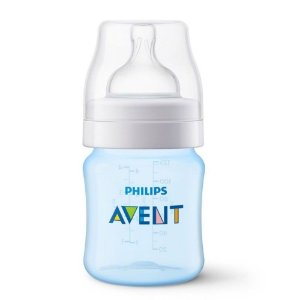 Mamadeira Avent Philips 125ml Anti Cólica Azul