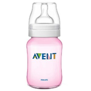 Mamadeira Philips Avent Anti Cólica 260ml Rosa