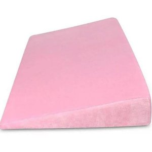 Travesseiro Anti Refluxo para Berço Soft Baby Rosa