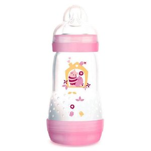 Mamadeira MAM First Bottle Easy Start 260ml Rosa