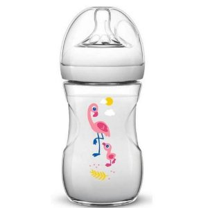 Mamadeira Avent Philips Pétala Decorada Flamingo 260ml