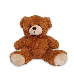 Bicho de Pelúcia Fofy Toys 23cm Urso Marron