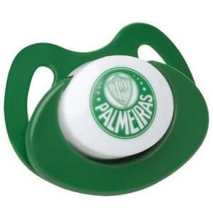 Chupeta Lolly Tam 1 Bico Ortodontico Palmeiras Verde