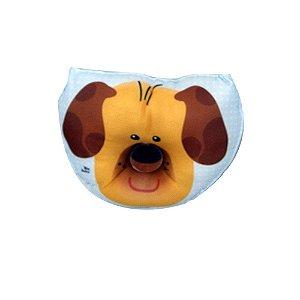 Travesseiro Anatômico Bebe Recem Nascidos Bruna Baby Cachorrinho Azul