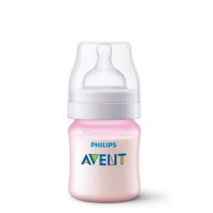 Mamadeira Avent Philips 125ml Anti Cólica Rosa