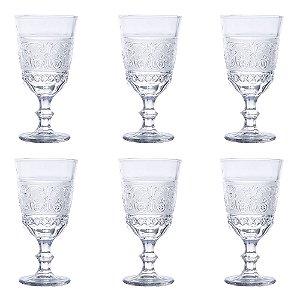 Conjunto com 6 Taças P/ Vinho Buske - 330ml