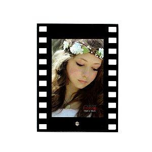 Porta Retrato de Vidro Filme Vertical 10x15