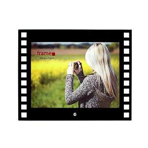 Porta Retrato de Vidro Filme Horizontal 15x20