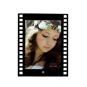 Porta Retrato de Vidro Filme Vertical 13x18