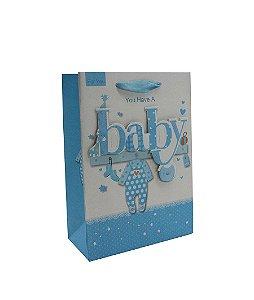 Sacola P/ Presente Baby - P