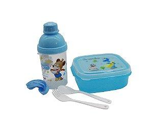 Kit Alimentação Ursinho Azul