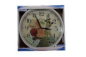 Relógio de Parede Flor