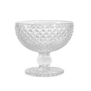 Cj 6 Taças p/ Champagne Coupe de Vidro Sodo Calcico