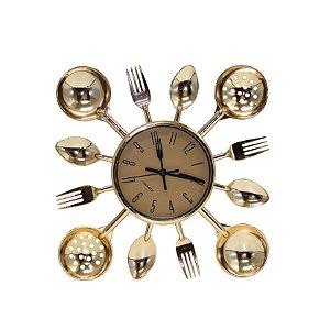 Relógio de Parede Talheres